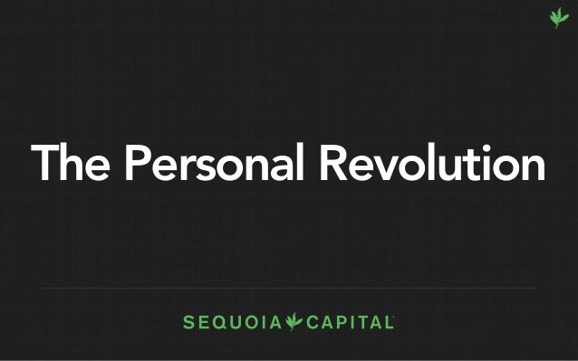 The Personal Revolution
