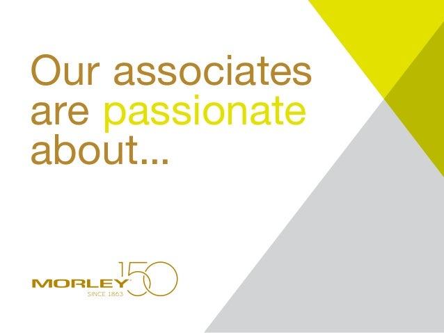 Our associates are passionate about...