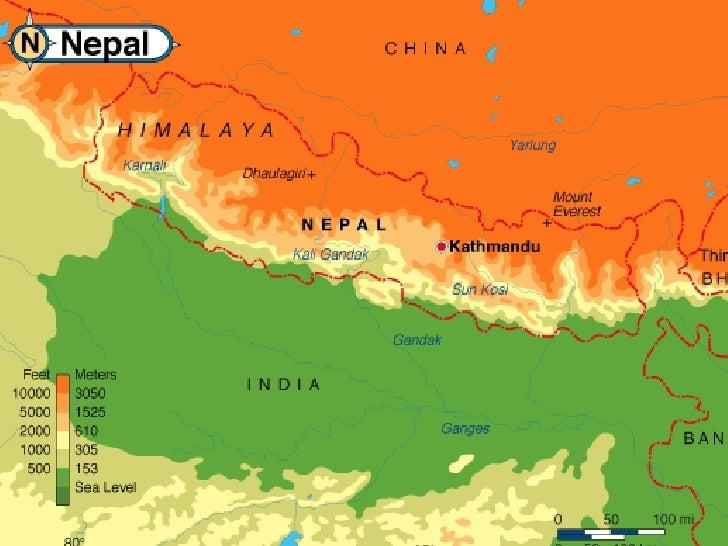 Chine  Vers le massif  des Annapurnas                                    Vers Mt.-Everest                                 ...