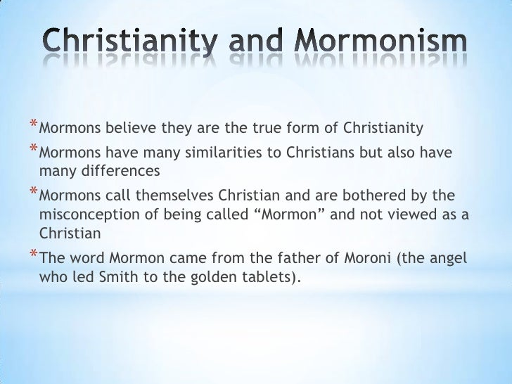 mormonism Mormonism was founded by joseph smith in the mid-19th century northeast united states{ref:1234} the largest mormon religious body is the church of jesus christ of.
