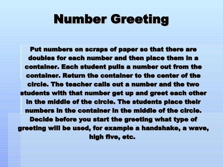 Morning meeting greetings 21 728gcb1238227026 21 number greeting m4hsunfo