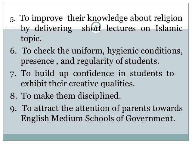 Morning assembly in schools By Sajjad Awan PhD Scholar TE Planning