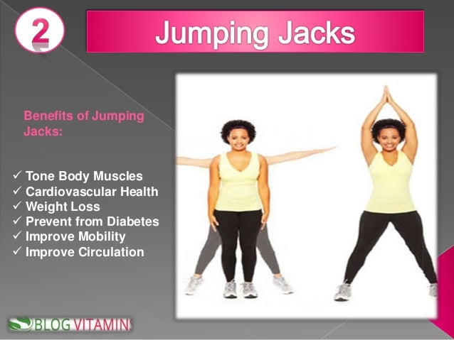 Jumping jacks is good for what