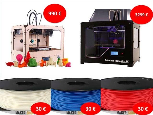 """Impression 3D """"La révolution est en marche"""" (Morning Lab)"""