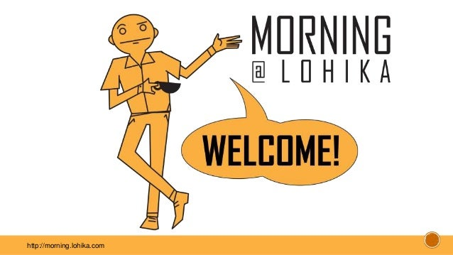 http://morning.lohika.com