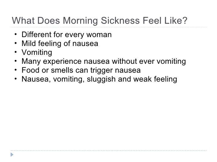 Morning Sickness Remedies for Pregnancy Symptoms