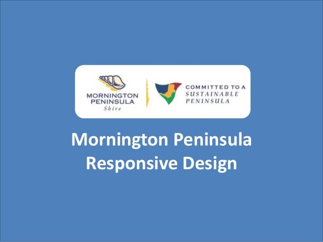 Mornington Peninsula Responsive Design