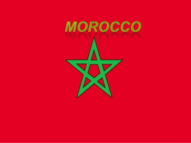 Moroccan people are proud of having agreat and varied cultural heritage that isthe result of the ethnic variation ofMorocc...