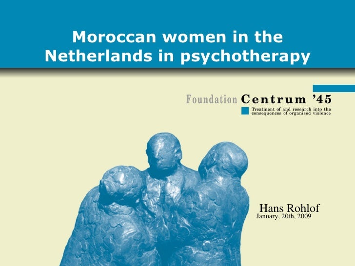 Moroccan women in the Netherlands in psychotherapy