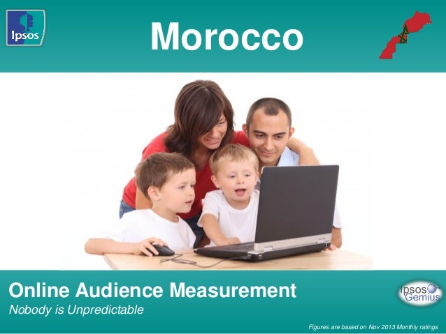 Morocco  Online Audience Measurement Nobody is Unpredictable Figures are based on Nov 2013 Monthly ratings