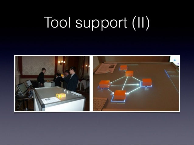 Tool support (II)