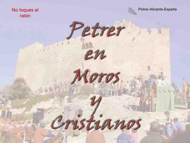 Petrer-Alicante-España No toques el ratón