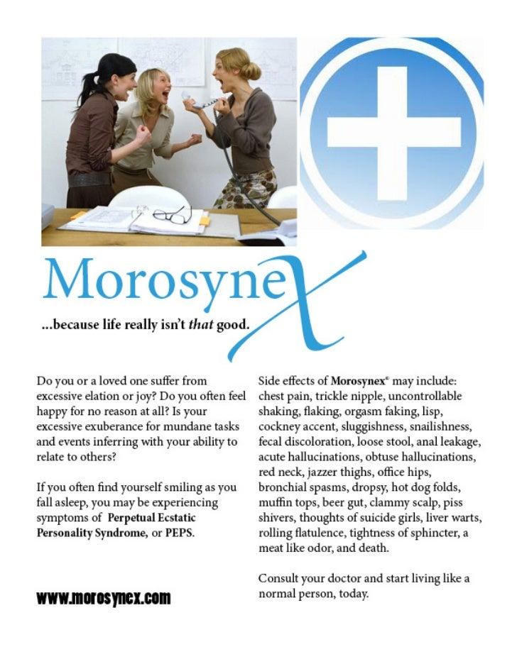 Morosynex full page ad