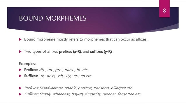 difference between morph allomorph morpheme Understand the difference between phonologically and lexically conditioned   regularity is an important criterion for recognizing a morpheme meaning  across  for a single lexeme  if you know the root, you know the allomorph .