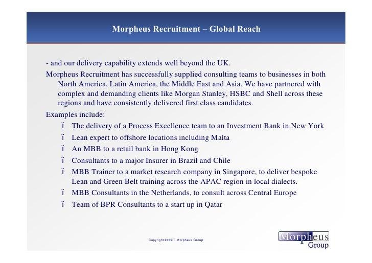 Morpheus Group Presentation Li
