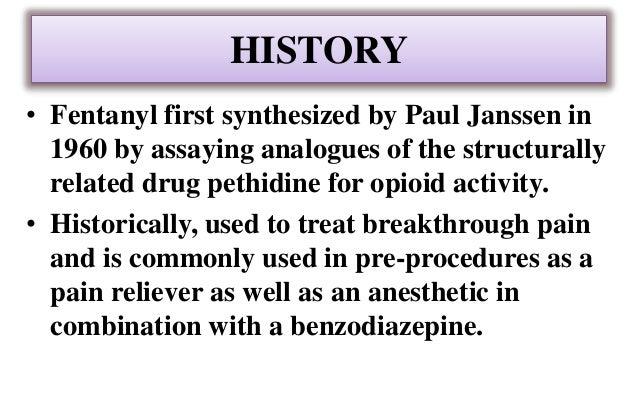 Morphine Amp Fentanyl Nida