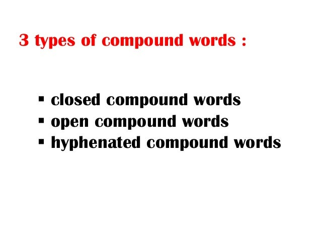 compound and vietnamese word formation A contrastive analysis of affixation in english and vietnamese as we all know, english is an inflectional language categorized into the group of analytic ones, which means english word formation becomes less fusional and it is added manner of syncategoremantic words, word order, etc.