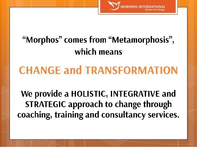 Morphos International Company Profile Slide 2