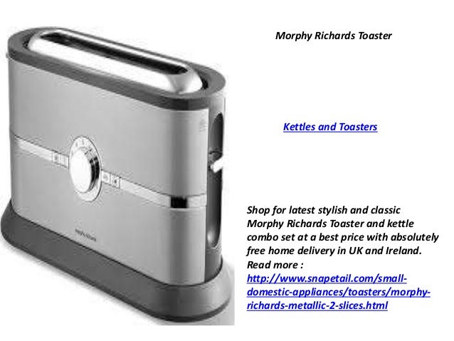 richards toaster and kettle bo set