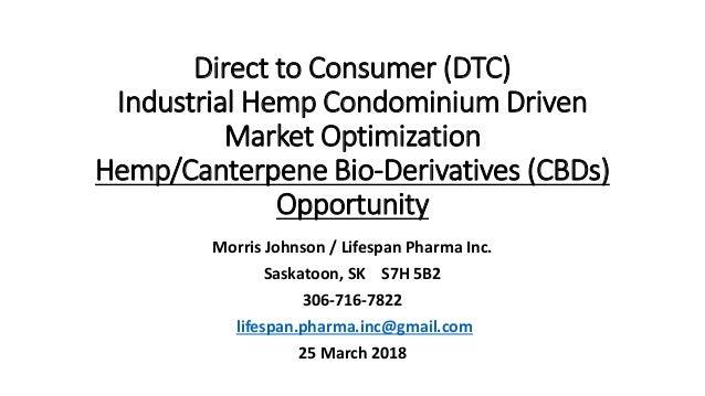 Morris johnson LEAN direct to consumer hemp CBD supply chain