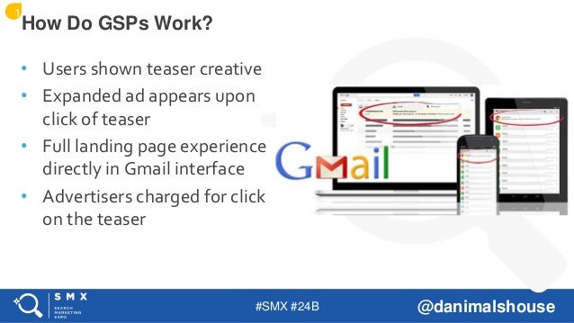 #SMX #24B @danimalshouse • Users shown teaser creative • Expanded ad appears upon click of teaser • Full landing page expe...