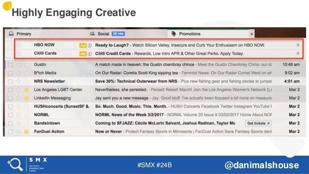 #SMX #24B @danimalshouse Highly Engaging Creative 1