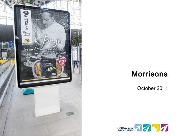 Morrisons October 2011
