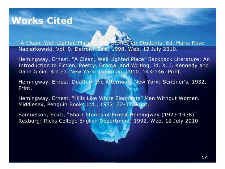 the iceberg theory 5 17