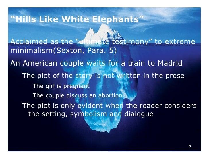 hills like white elephants conclusion