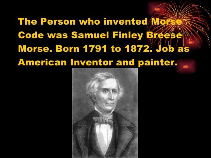 Morse code Slide 2