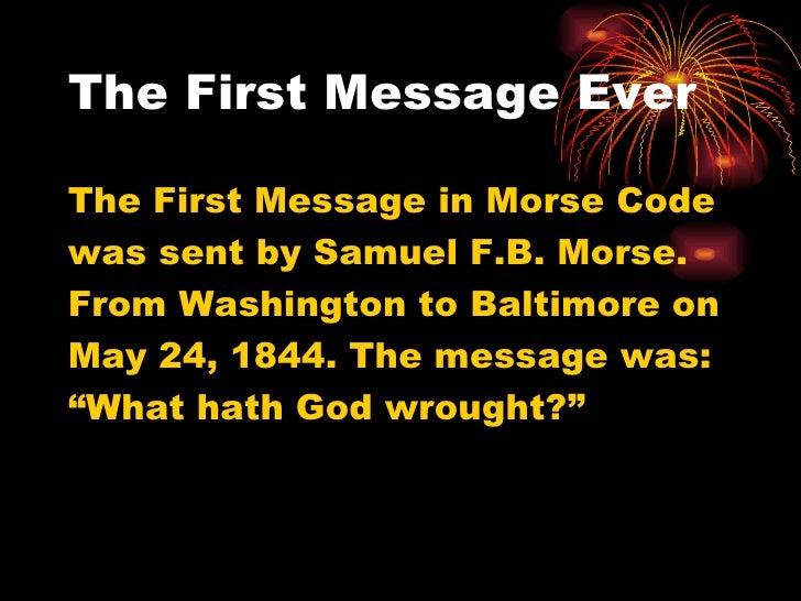 Morse code Slide 3