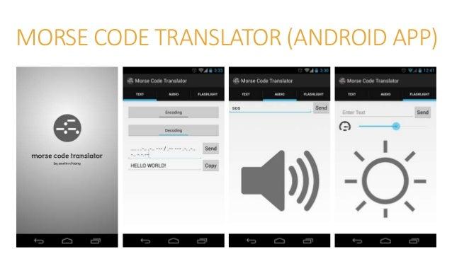 MORSE-IT (iOS APP)