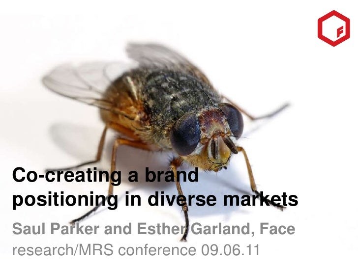 Co-creating a brand positioning in diverse markets<br />Saul Parker and Esther Garland, Face<br />research/MRS conference ...