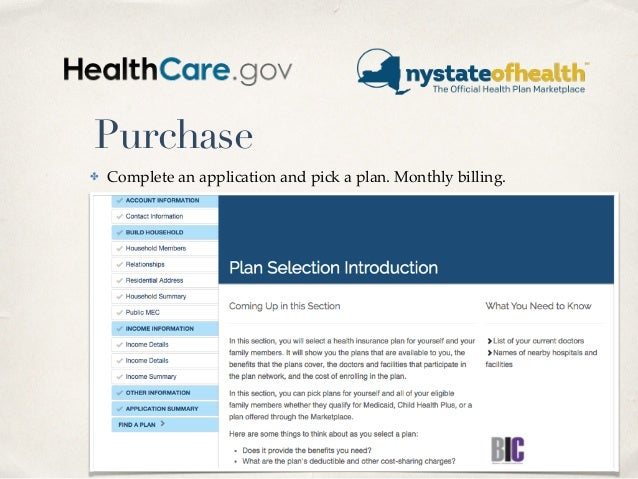 Purchase ✤ Complete an application and pick a plan. Monthly billing. May 5, 2015 31