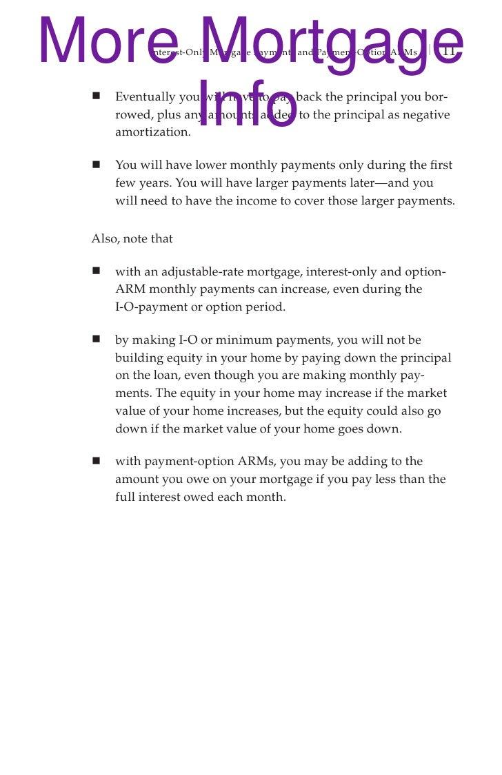 Worksheets Mortgage Shopping Worksheet mortgage pay options brochure 12 more mortgage