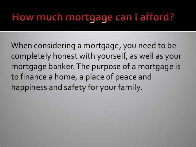 Mortgage how much can i afford for Can i afford to build a new house