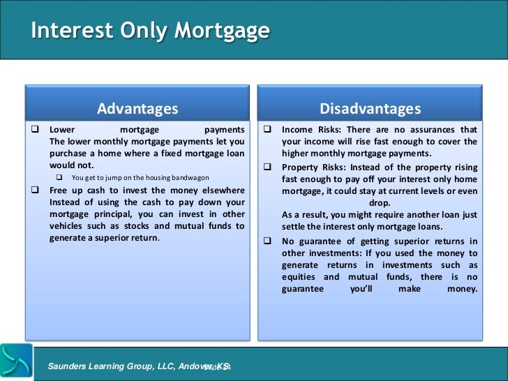 Mortgage banking overview for Loan for land only
