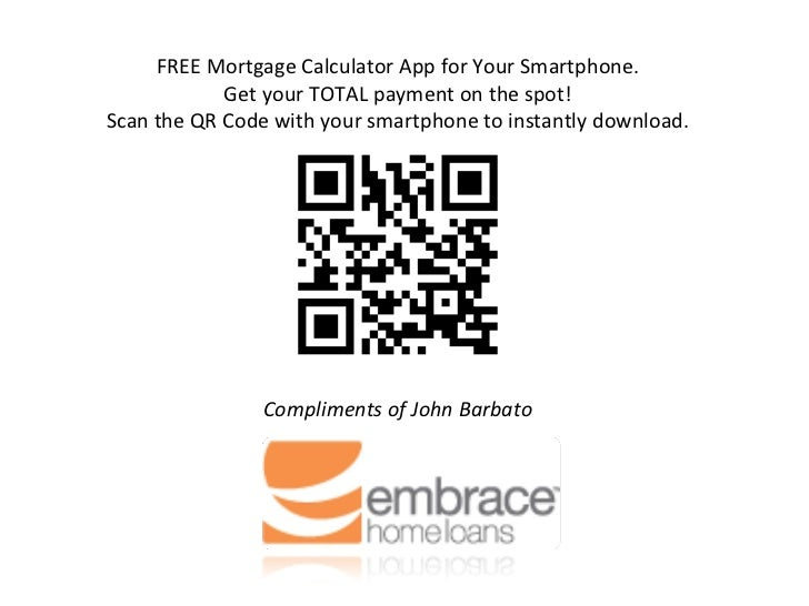 free mortgage calculator app for your smartphone get your total payment on the spot