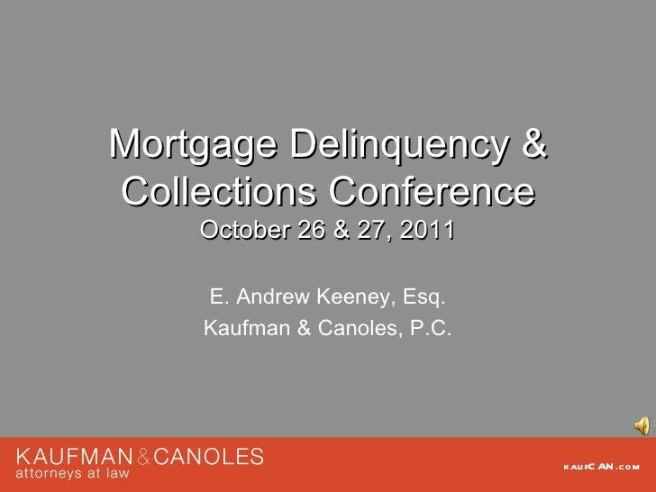 MDDCCUA - Mortgage Delinquency & Collections Conference