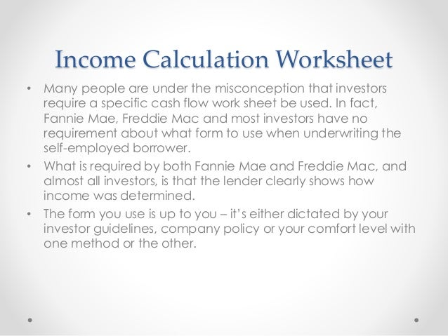 Worksheet Self Employed Income Analysis Worksheet 2013 mortgage loan originator income tax analysis calculation worksheet