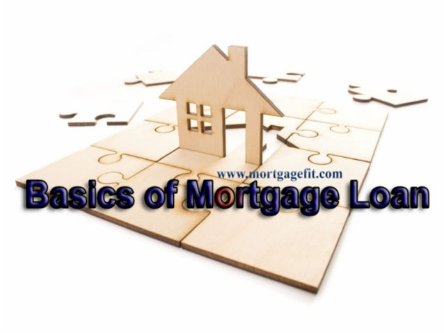 What is a mortgage loan?         A loan secured by real property such as land, home etc. This is used to make large re...