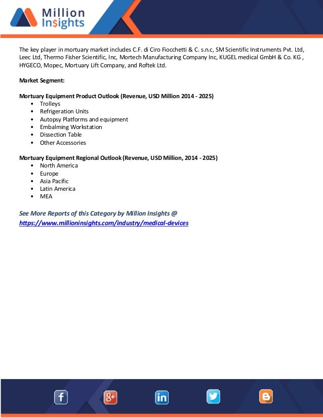 Mortuary equipment market methodology, overview, segmentation, trend …