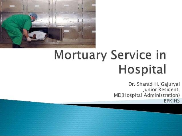 Dr. Sharad H. Gajuryal Junior Resident, MD(Hospital Administration) BPKIHS