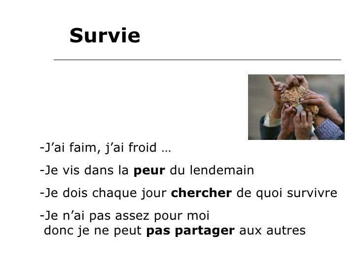 Mort Vie Survie Slide 3