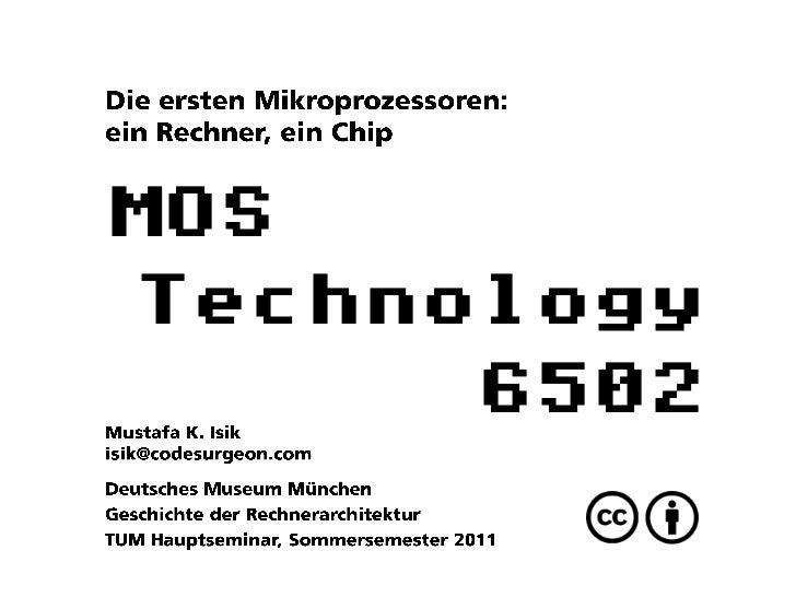 MOS Technology       6502
