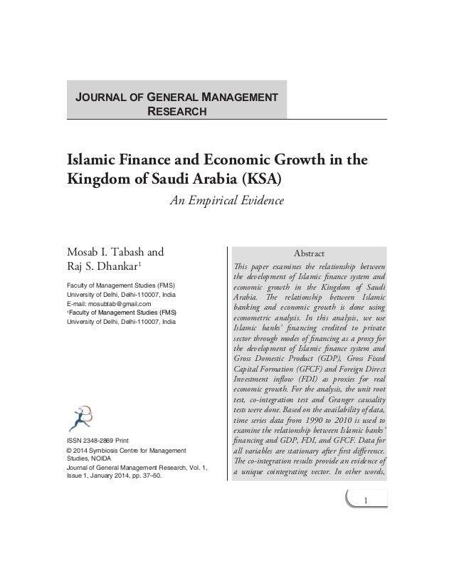 an empirical reassessment of the relationship between finance and growth