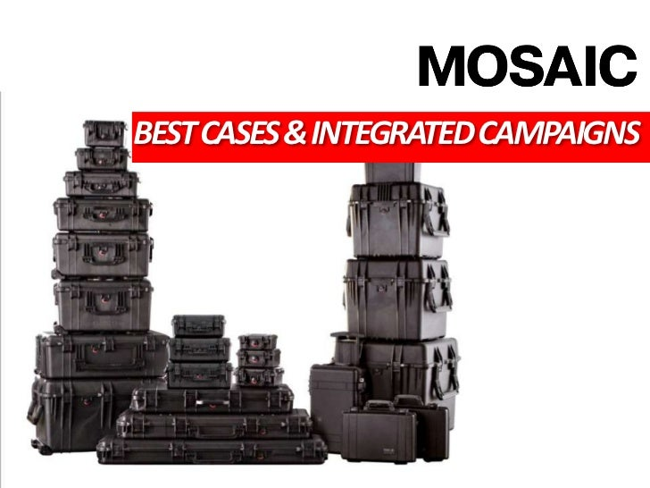 BEST CASES & INTEGRATED CAMPAIGNS<br />