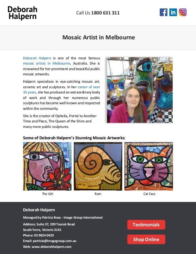 Mosaic Artist in Melbourne