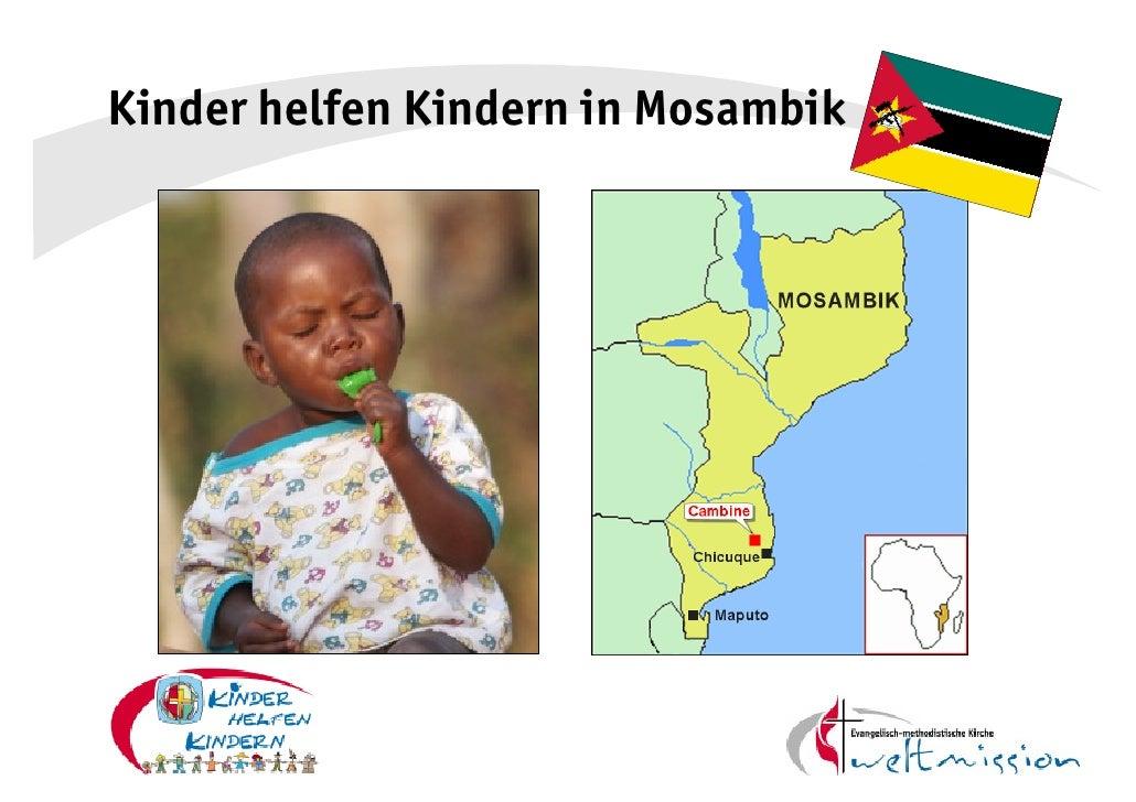 Kinder helfen Kindern in Mosambik