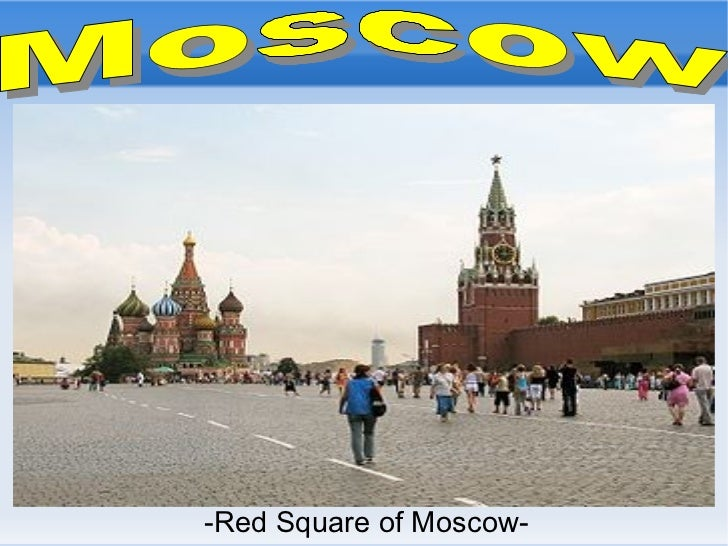 -Red Square of Moscow-